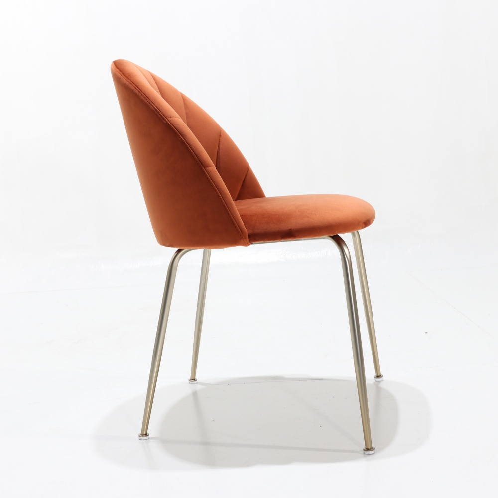 Beatrice table and six shell chairs - promo set with one table and six dining chairs