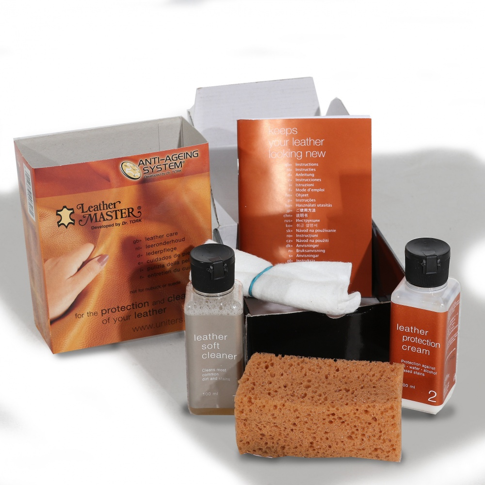 KIT CLEANING AND PROTECTION OF LEATHER