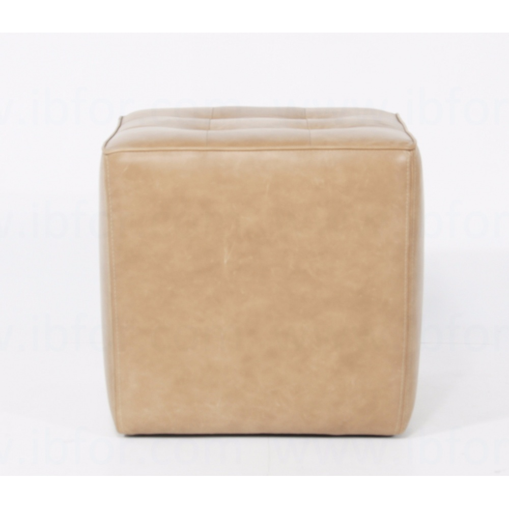 Footstool Cube with Small Squares
