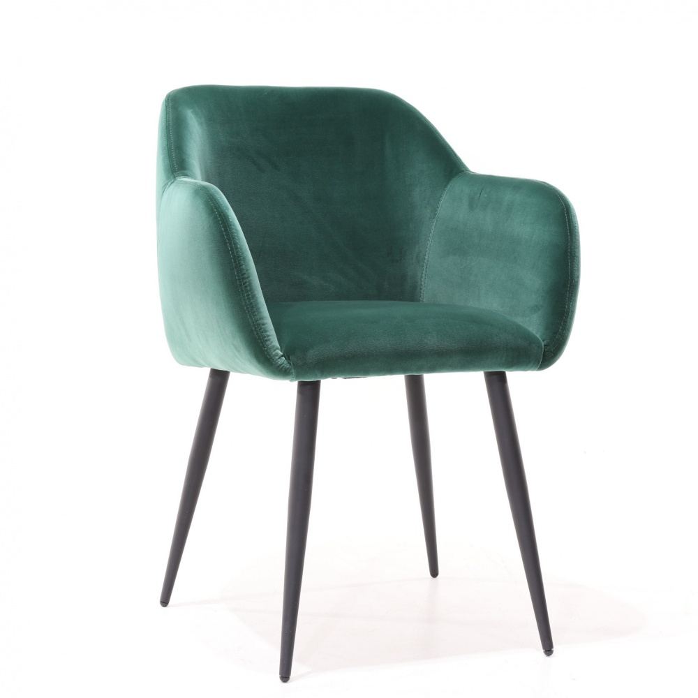 CHAIR KEZIA - upholstered chair with armrests