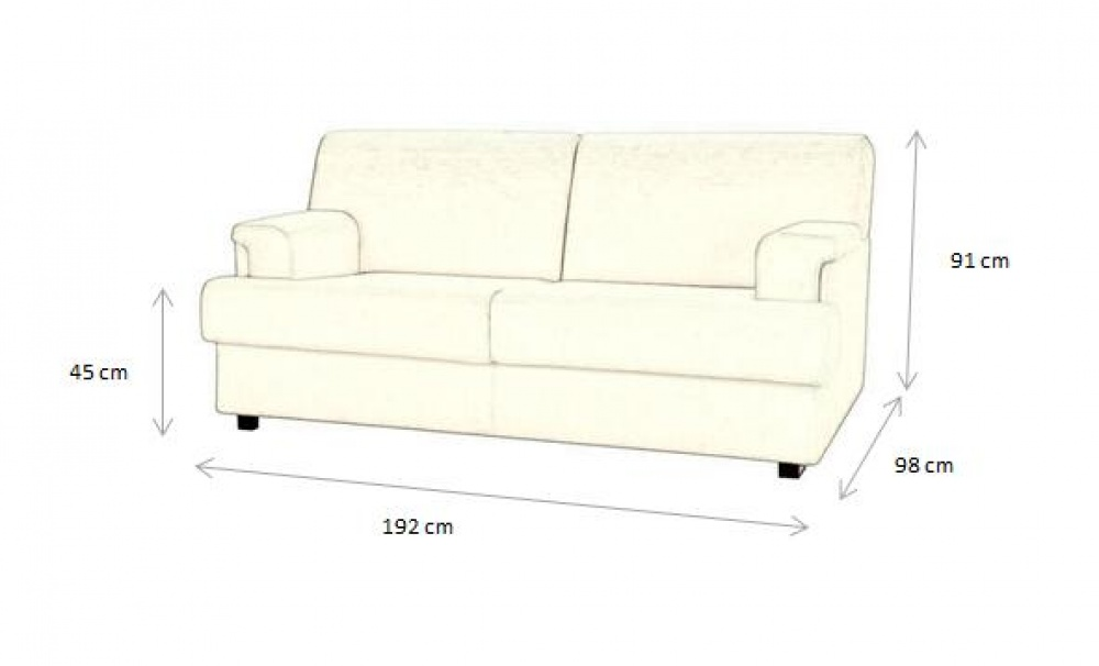 LUXORY SOFA BED