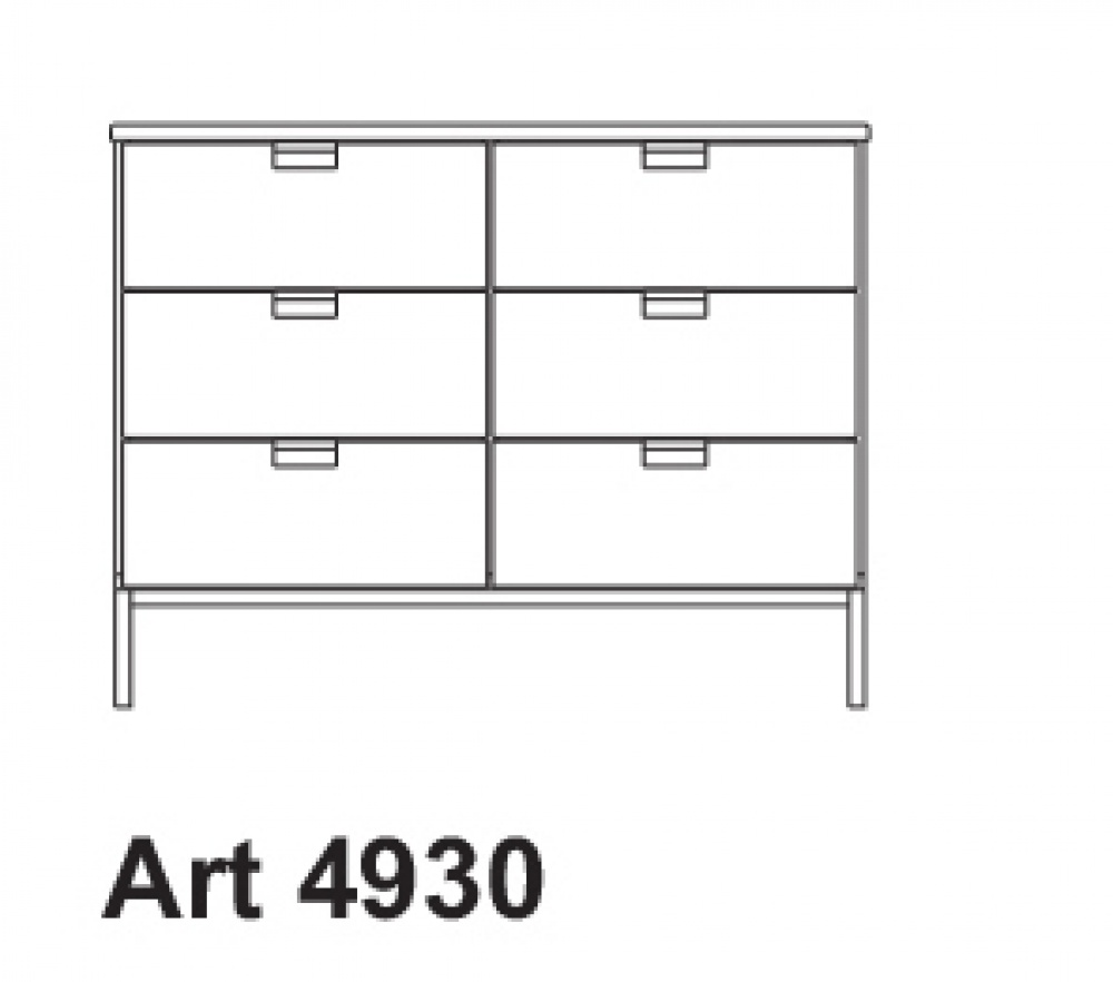 SMALL SIDEBOARD ART. 4930
