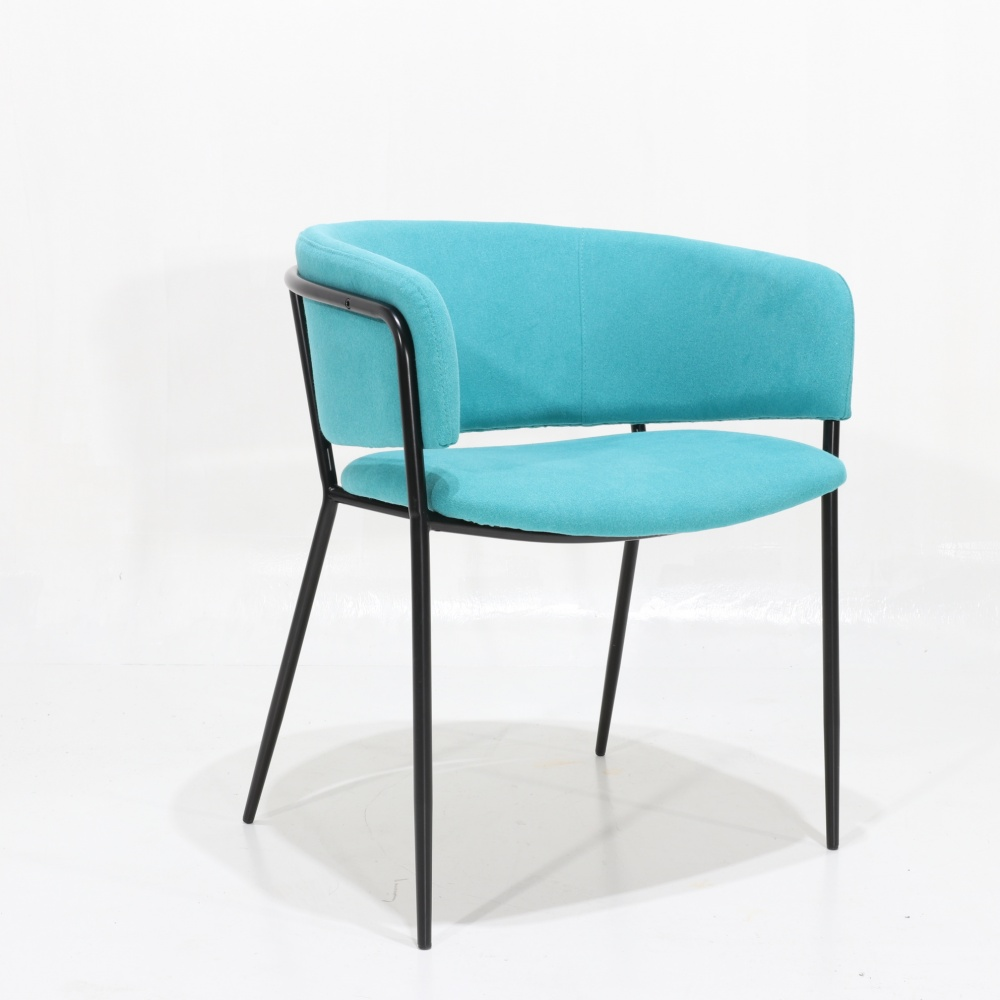 CHAIR JADA - dining chair with armrests and lacquered structure