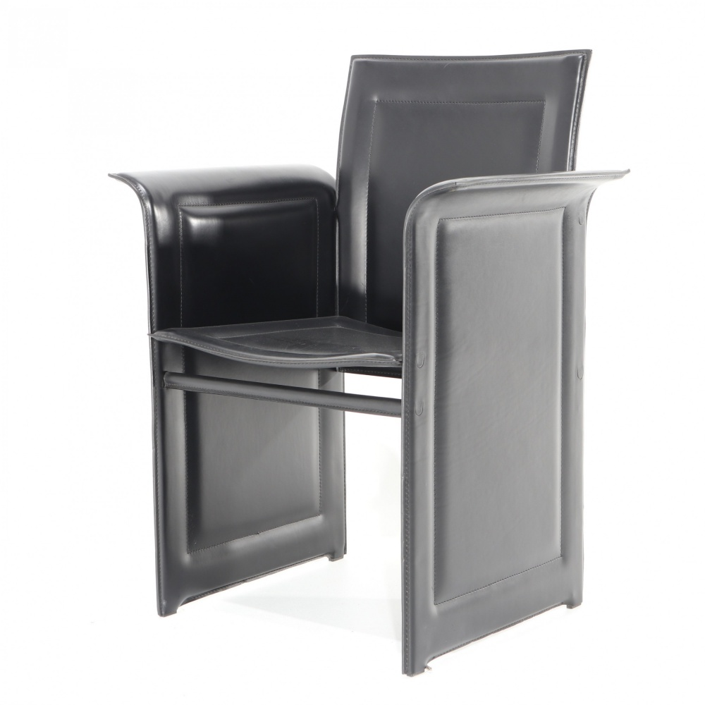 COWHIDE CHAIR WITH ARMRESTS 1