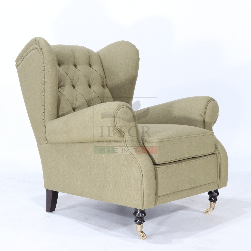 BERGERE FABRIC ARMCHAIR version 2