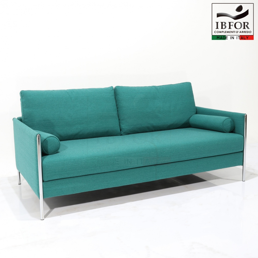 SOFA BERTO - body in steel and covering in fabric