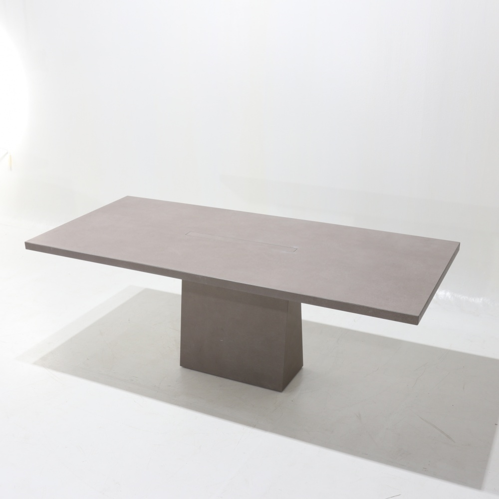 STONE TABLE - dining table covered entirely in ceramic