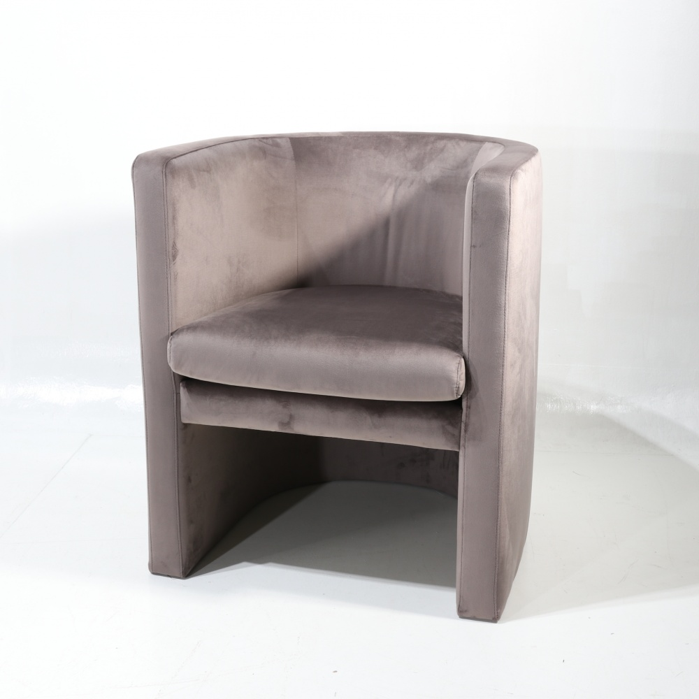 ARMCHAIR MEGAN - semicircular enveloping armchair