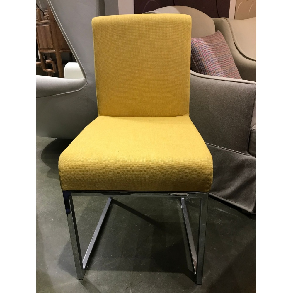 Chair P11 YELLOW FABRIC