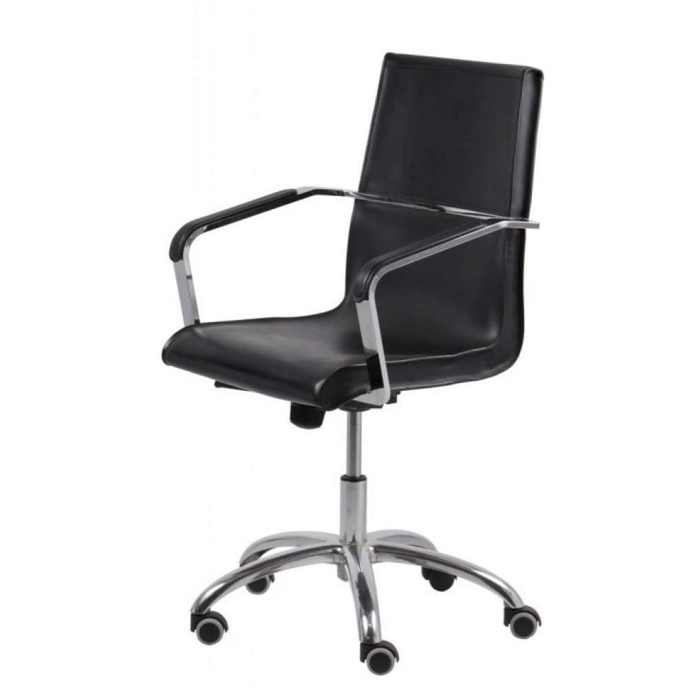 DIRECTORIAL COWHIDE OFFICE CHAIR