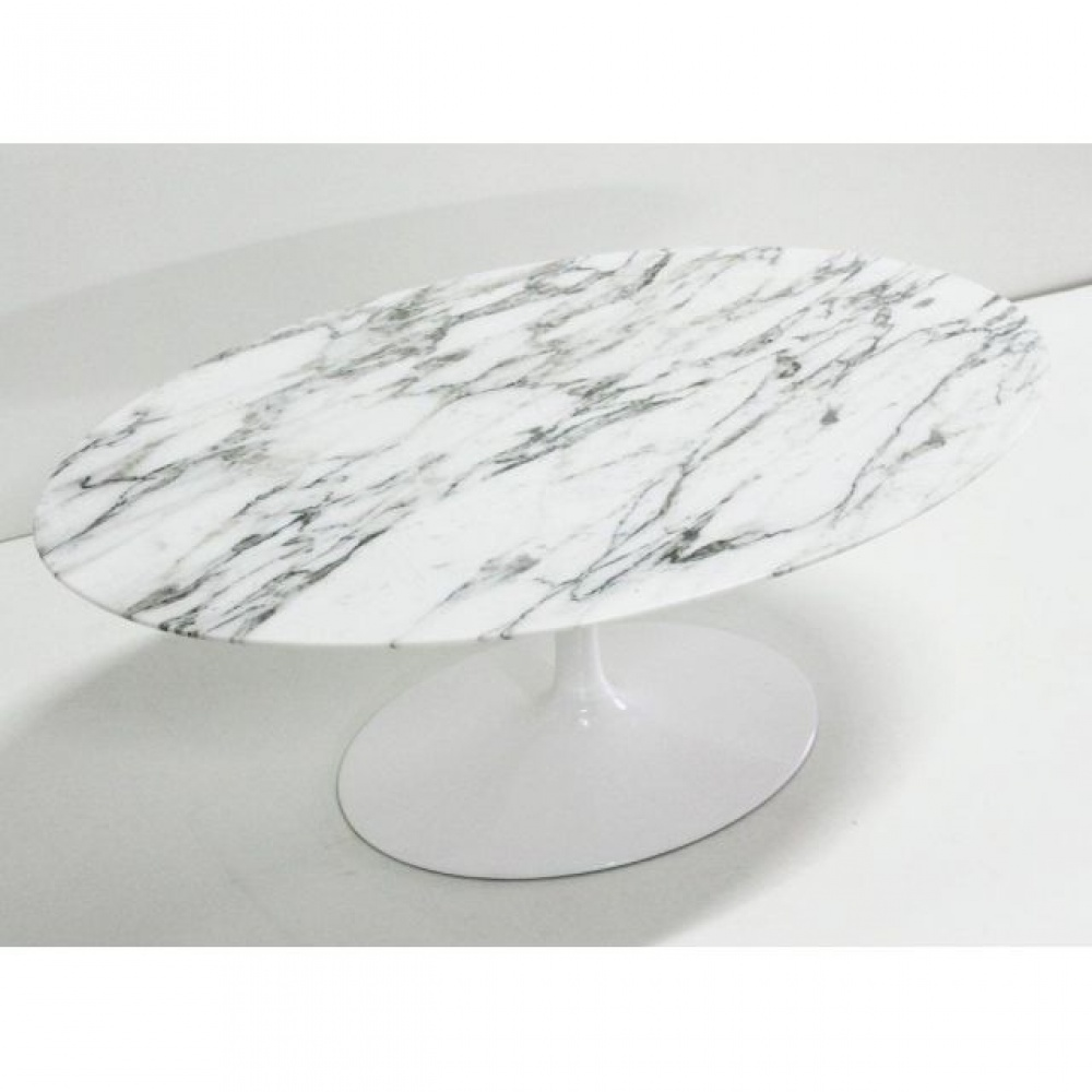 WING OVAL LITTLE TABLE MARBLE