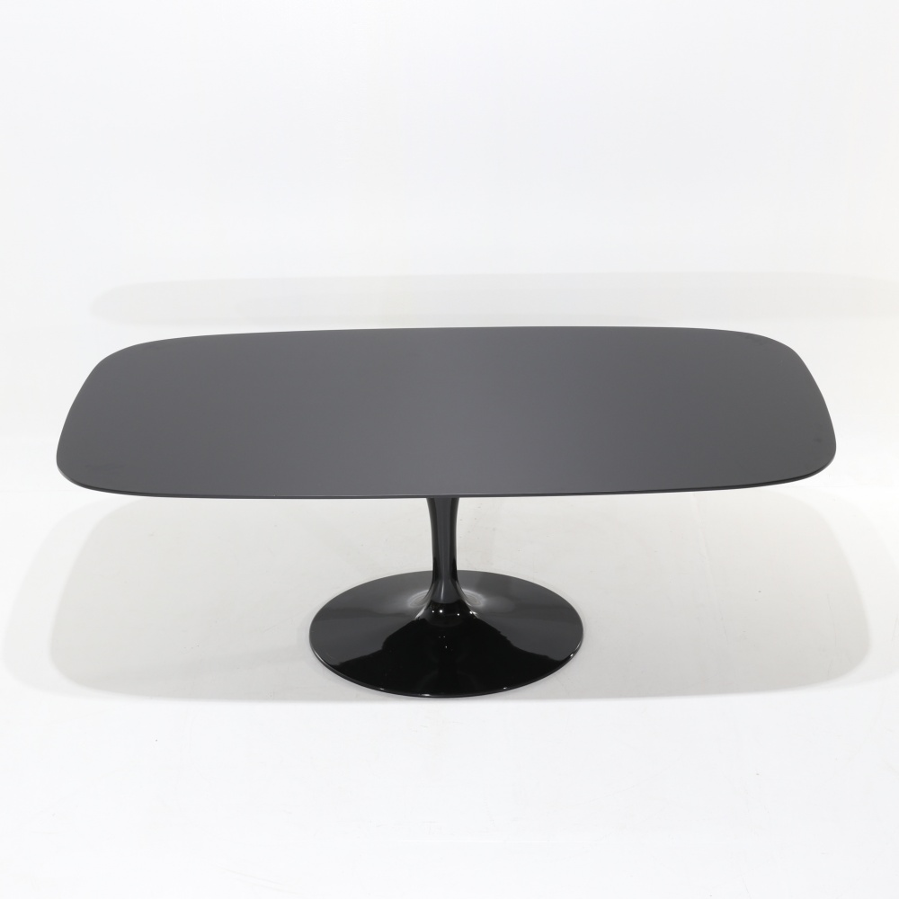 WING TABLE BLACK LIQUID LAMINATE TOP