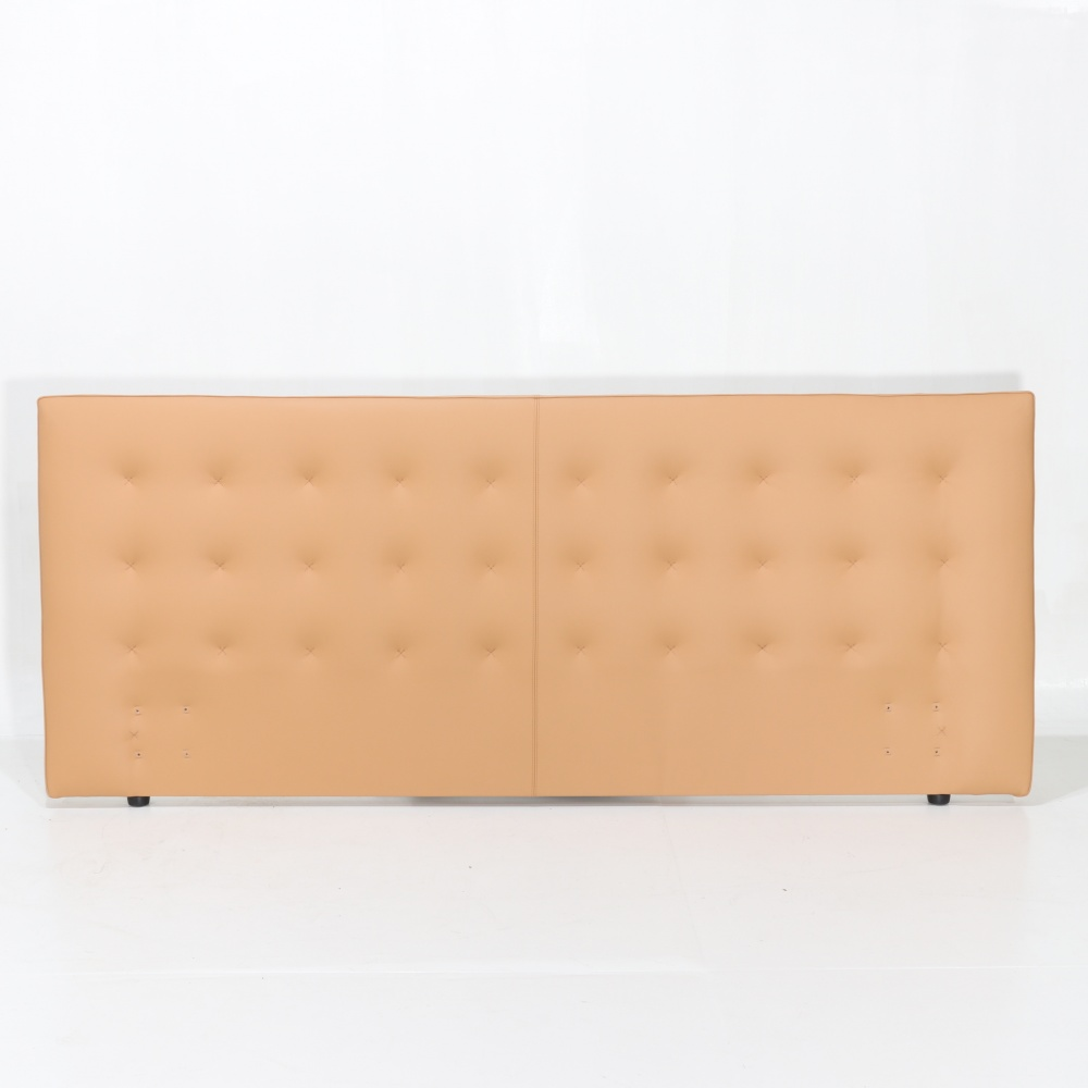 Double headboard - headboard for double leather bed