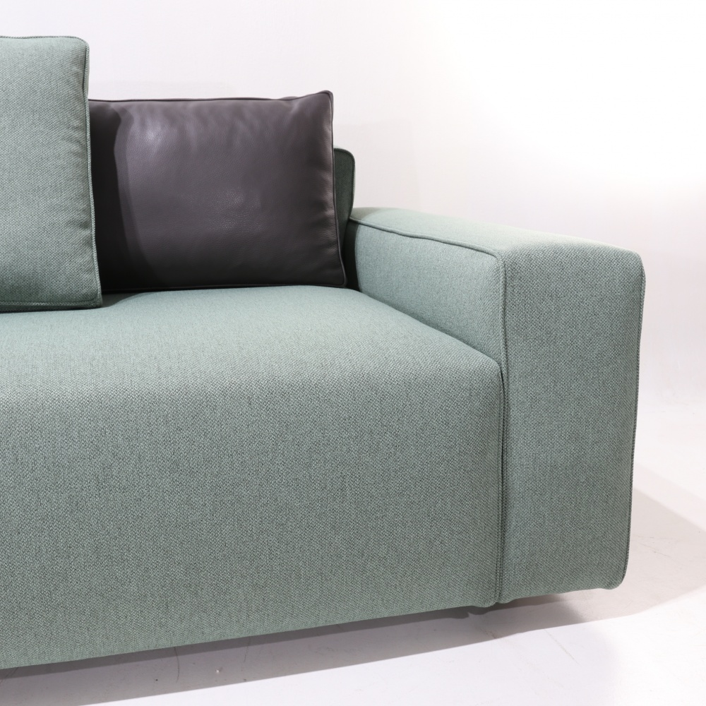 TOMMASO COMPOSITION SOFA - modular sofa with double cover
