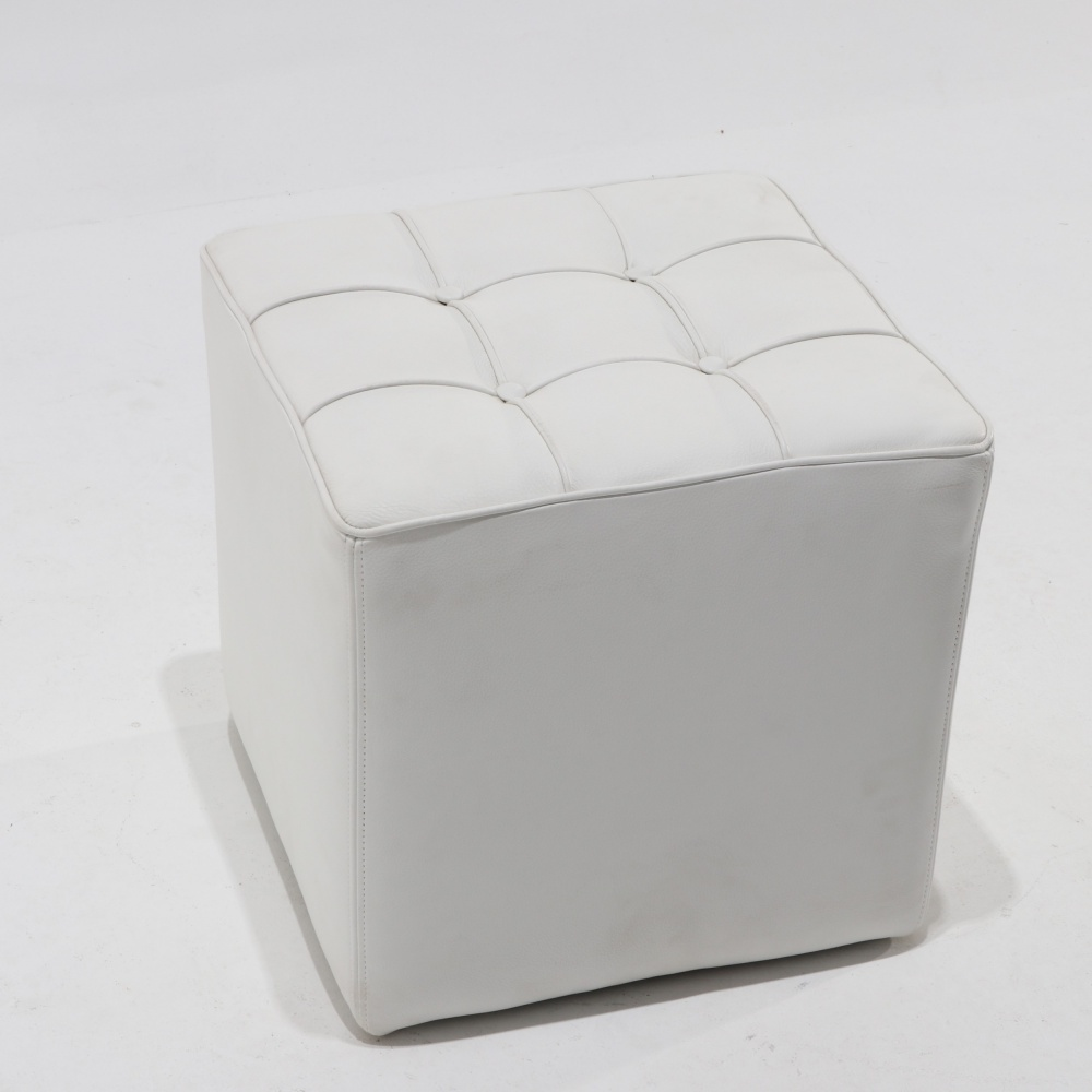Footstool Cube with buttons
